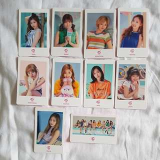 Twice Shibuya 109 pop up photocards