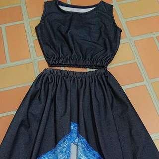 Denim Dress for Girls