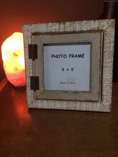 Dimensione Shabby Chic Rustic Double Wooden Picture Frame