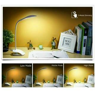 Desk Lamp and clip on light in 1