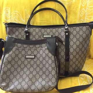 Preloved Gucci Inspired Tote & Sling Bag
