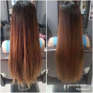 Looking for Hair Models! Total Repair Silk Gloss Hair Treatment