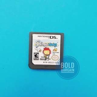 Authentic Nintendo Game Cartridge SCRIBBLE NAUTS For DS 3DS DSi Game Console