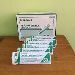 (6 for $9.60) Terumo Syringes 50ml