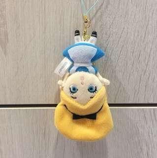Disney 迪士尼 超Q愛麗絲夢遊仙境 倒立吊飾