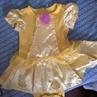 Belle dress for baby