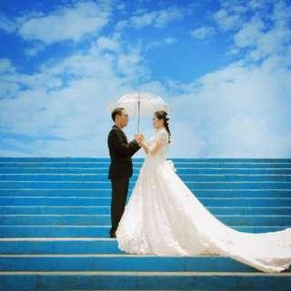 Sewa gaun pengantin murah