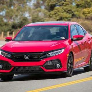 Honda civic 1.5 turbo sedan & civic hatchback