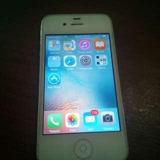 TURUN HARGA Iphone 4S 32GB white 2nd ori