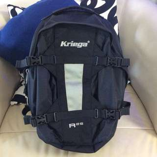 Backpack Kriega R25 in almost new condition.