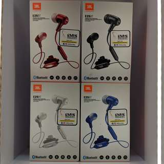 E25 BT EARPHONES