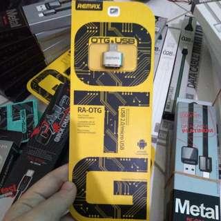 Remax RA-OTG (Micro USB to USB Port) untuk mentransfer data