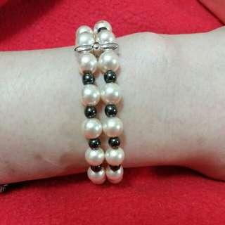 珍珠造型手鍊