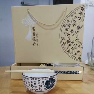 Bowl and Chopstick set