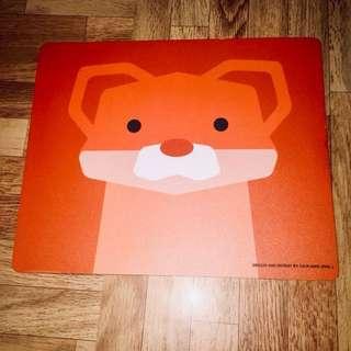 Cute CD-R King Fox Mouse Pad
