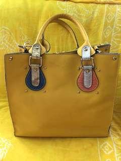 Preloved Korean Satchel/Sling Bag