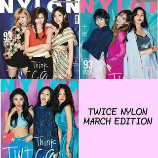 TWICE NYLON MARCH EDITION