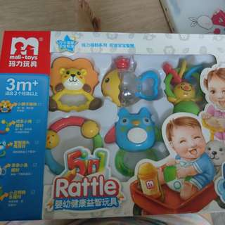 PL baby rattle toys