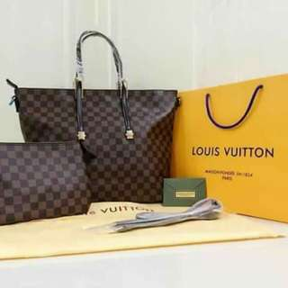 Authentic Overrun Loius Vuitton Set Handbag