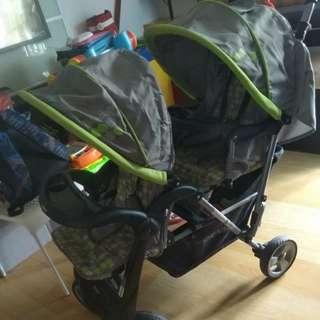 Shenma Double Stroller