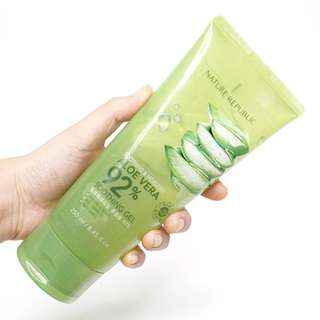 Nature Republic - Soothing & Moisture Aloe Vera 92% Soothing Gel (Tube)