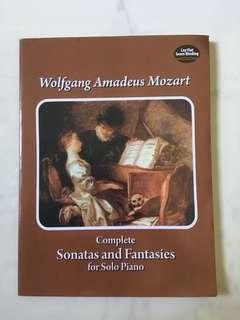 Mozart piano sheet music