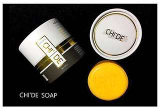 FREE SAMPLES For NEW Chi'de Beauty Soap Face Instant Brightening Aura White Reduce Acne Clear Dark Spot Oil Control Clear Most Problem Skin and A All In One Beauty Soap Chide