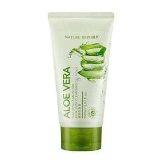 Nature Republic - Soothing & Moisture Aloe Vera Cleansing Gel Foam