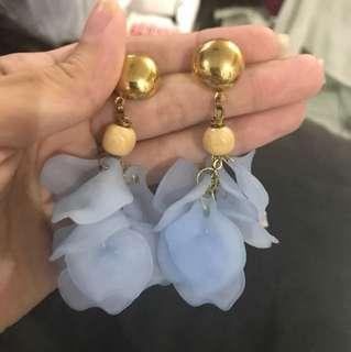 Repriced!! Oversized Petal Earrings