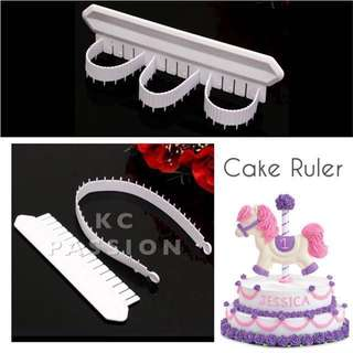 🎂 CAKE RULER TOOL Decorating Arc Bounded Cake DIY Scale
