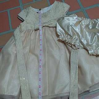 Princess Faith Gown for Girls 18inches