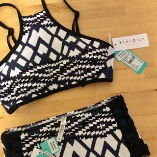 Seafolly Modern Tribe Bikini Set ✨