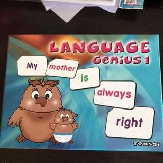 Shichida Flash Cards  Language Genius 1