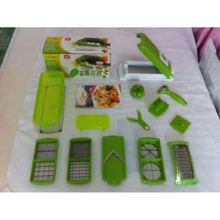 Original Genius Nicer Dicer Plus Vegetable Chopper Pemotong Sayur Buah