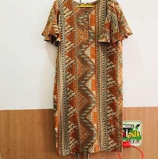 Terusan dress batik mewah