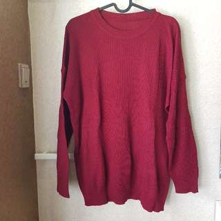 Maroon Sweater (No Brand)