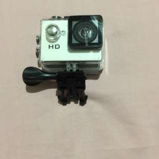 Action camera hd with water proof case