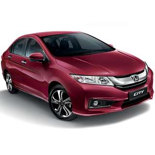 New Red Ruby Honda City Sport Hybrid 1.5L 2018