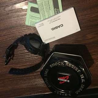 Casio G SHOCK MATTE BLACK