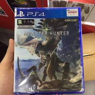 Monster hunter world ps4 r3