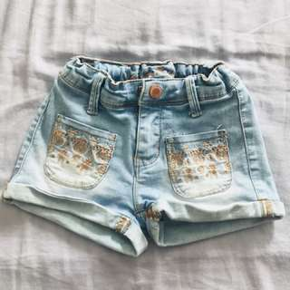 Brands outlet girl hotpants