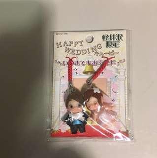 曰本輕井沢限定Happy Wedding 公仔