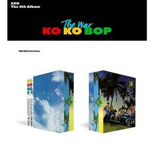 EXO THE WAR KOKOBOP