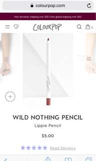 Lip pencil in Wild Nothing & Aquarius
