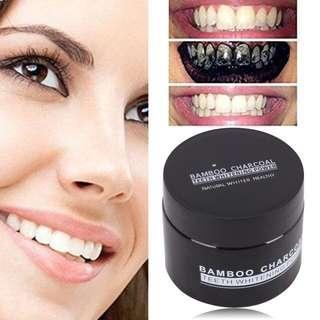 Bamboo Charcoa Teeth Whitening Powder