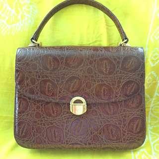 Preloved Esquire Vintage Handbag