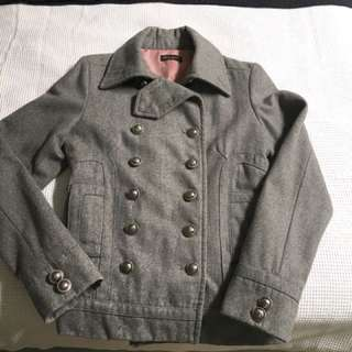 EUC Grey Military Jacket / Coat