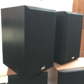 "PSB ""The Amazing Alpha"" bookshelf speakers"