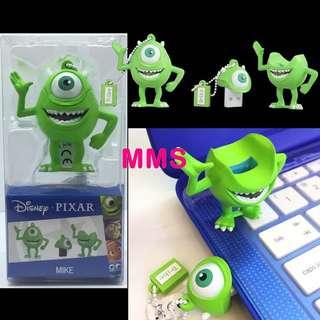 正版 Disney 迪士尼 怪獸公司 怪獸大學 大眼仔 Mike 16GB USB 手指 USB Flash Drive