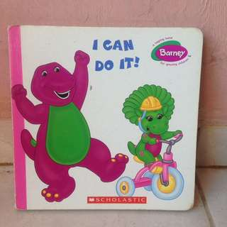 Board Book Barney - I can do it - Scholastic